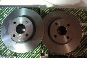 Toyota Corolla Verso mk4 02-07 pair new 255mm front brake discs LPB bd1141v
