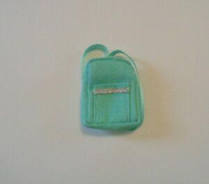 Mint Green Cloth Backpack Stacie Skipper Creatable World Barbie NEW