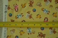 """By-the-Half-Yard, 42"""", Old Fashion Toys Quilter's Cotton, Quilting Treas., M6407"""