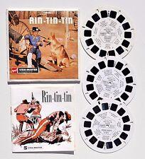 View-Master : RIN-TIN-TIN - pochette 3 disques - année 1955