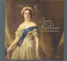 Jersey-Queen Victoria-200th Anniv Birth 2019-Royalty-Art-min sheet