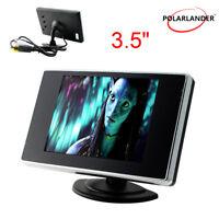 """3.5"""" LCD TFT Pantalla Coche Monitor DVD DVR para Coche Retrovisor Revés Cámara"""