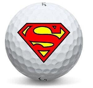 3 Dozen (Superman LOGO) Titleist Mix Mint AAAAA Golf Balls + FREE TEES
