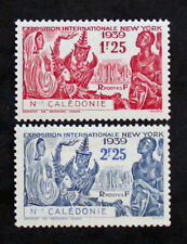 Timbre NOUVELLE CALEDONIE/NEW CALEDONIA stamp - YT n°173 et 174 n* (Col3)