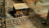 High detailed resin casting track side  hut By R&M suit HO OO gauge unpainted