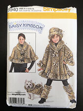 Simplicity #3940 Child's Coat, Hat, Leg Warmers, & Misses Capelet & Dog Coat