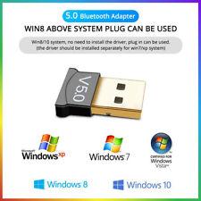 Bluetooth USB Stick 5.0 Dongle Adapter für PC Windows 7/8/10/XP/Vist