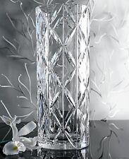 Rare! ORREFORS Cross Hatch Crystal Tone Vase # 6552425 NEW IN BOX Ingegerd Råmam