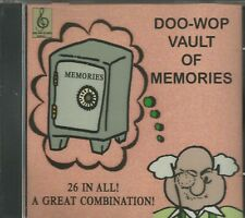 DOO-WOP VAULT OF MEMORIES - CD - Brand New