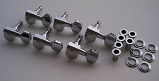 Genuine FENDER Ping 2 Pin Chrome Tuners Strat Tele USA & Import Easy Replacement