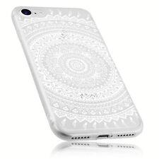 mumbi Hülle für iPhone 8 /iPhone 7 Schuthülle Mandala Case Tasche Transparent