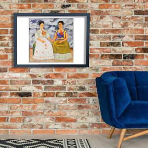 Frida Kahlo The Two Fridas Wall Art Poster Print