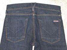 Hudson Men's Straight Leg Jeans Sz 29 x 29  Dark Stretch Denim