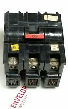 NA360,3P60 Federal Pacific 3 pole 60A , stab lok breaker, no hump,Great Deal