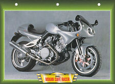 CARTE FICHE MOTO   VOXAN CAFE RACER  2000 .    NEUVE