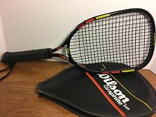 Vintage Racquetball Racket Wilson Graphite 245 excellent condition with case