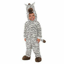 NEW Boy Girl INFANT TODDLER ZEBRA STRIPED ANIMAL PLUSH HALLOWEEN COSTUME 6M-12m