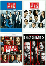 Chicago Med Seasons 1-4 Complete TV Series DVD Set. Seasons 1,2,3,4 Bundle Sale