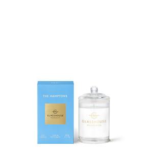 The Hamptons Teak & Petitgrain 60g Triple Scented Candle Glasshouse Fragrances