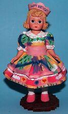 Madame Alexander, resin doll figurine, Happy Birthday, 90180, NIB light skinned