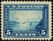 "US Sc# 399 *MINT OG H* { ""JUMBO -XF- CENTERED } BEAUTY 5c PANAMA PACIFIC OF 1913"