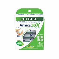 Boiron Arnica Montana 30X Pain Relief medicine, 3 Count. Homeopathic, Quick-diss
