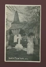 Devon NORTH TAWTON Church RP PPC by Francis of Post Office + VF postmark