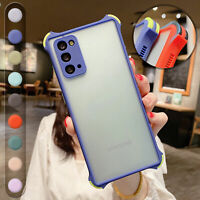 Shockproof Matte Hard Case Cover For Samsung Note20 10 S20S21 Ultra S10S9S8+