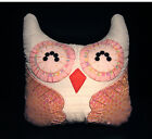 Hand-Crafted OWL Decorative Pillow #OP52 Special (M)
