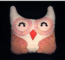 Hand-Crafted OWL Decorative Pillow #OP52 Special (M) - (plush/disney/bird/cat)