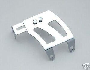 Chrome Throttle Cable Bracket Chevy Small Block Quadrajet Edelbrock Holley AFB