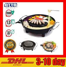 "14.5 "" BBQ KOREAN BBQ THAI LAO GRILL COMPLETE SET OTTO Electric Suki Pan NEW HIT"