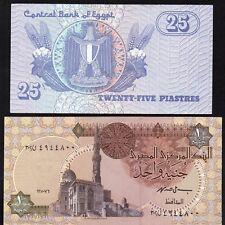 EGYPTE 2 Billets NEUFS / Lot 24