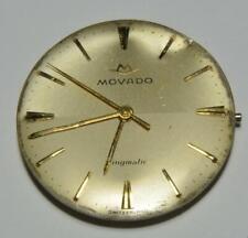 Movado Kingmatic Swiss made 17 jewels Automatic Men's watch movement runs