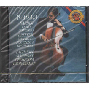 Yo-Yo Ma CD  Barber: Cello Concerto / Britten: Symphony For Cello & Orchestra  S