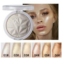 Shimmer Highlight Powder Palette Face body Contour Highlight Makeup Illumin L2S4