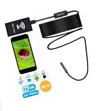 PECHAM 11.5FT Wireless Endoscope, WiFi USB Borescope Inspection Camera 2.0 Me...