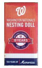 2015 Washington Nationals NESTING DOLLS + Cards SGA Max Scherzer Bryce Harper
