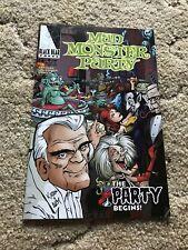 Mad Monster Party No. 1 Black Bear Press Comic Book Boris Karloff 1999