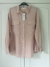 BNWT M&S Light Apricot long sleeved blouse size 20