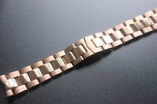 Steel/Silver 22mm Rose gold for fit Corum ADMIRAL'S CUP strap steel Watch band