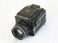 Mamiya 645 Medium Format Film Camera with 80mm f2.8 Sekor Lens - Good Condition