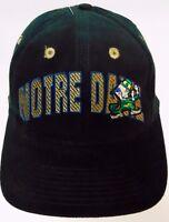 Vtg 1990s UNIVERSITY NOTRE DAME FIGHTING IRISH Top of the World SNAPBACK HAT CAP