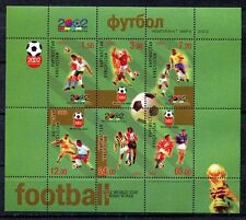 s7441A) Kirgyzstan 2002 MNH World Cup Football - cm Football S/S