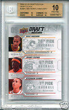 STEPHEN CURRY Warriors 2009 Upper Deck Draft rookie BGS 10 PRISTINE MVP 1 of 2 !