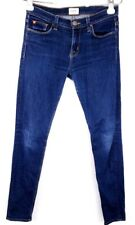 Hudson Jeans Size 25 Crop Skinny Cuff Stretch Denim Ankle Womens Dark Wash
