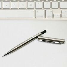2pcs Mini Portable Pocket Pen Metal Telescopic Ballpoint for Purses Black Ink