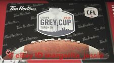 TIM HORTONS CANADA GIFT CARD 2016 TORONTO GREY CUP CFL FOOTBALL NO VALUE FD54001