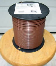 THHN/THWN  500 Ft.  #10 AWG  Solid Copper  Wire- Brown