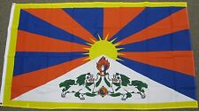 3X5 TIBET FLAG DALAI LAMA FLAGS TIBETAN NEW ASIA F391